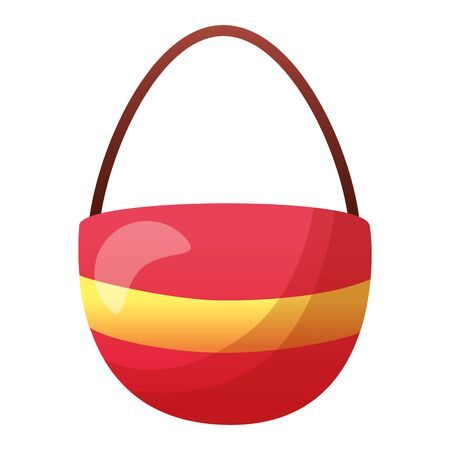 handbag accessory on white background