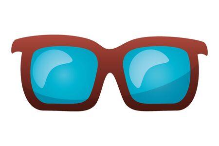 sunglasses accessory on white background