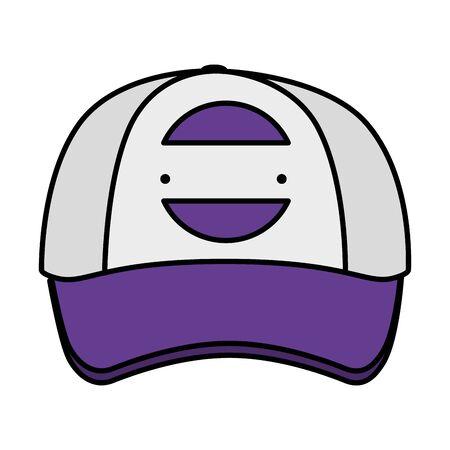 cap with company emblem vector illustration design Illustration