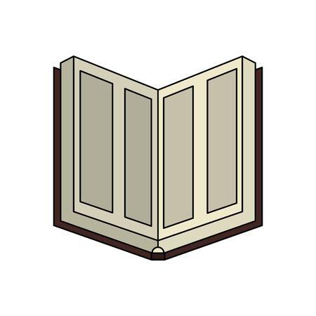 koran book religious isolated icon vector illustration design