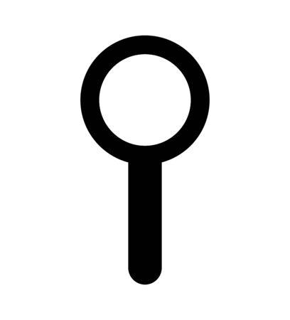 search magnifying glass isolated icon vector illustration design Illusztráció