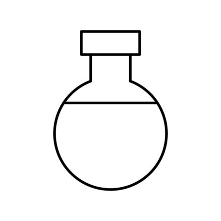 tube test isolated icon vector illustration design Banco de Imagens - 129735251