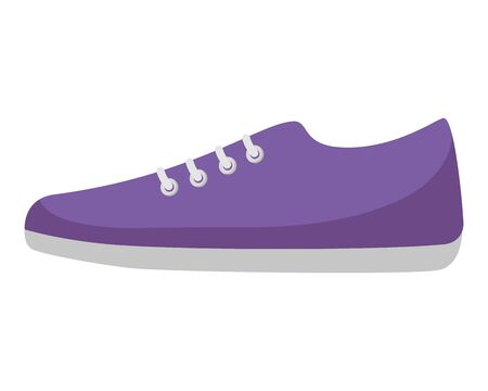 sport shoe isolated icon vector illustration design  イラスト・ベクター素材