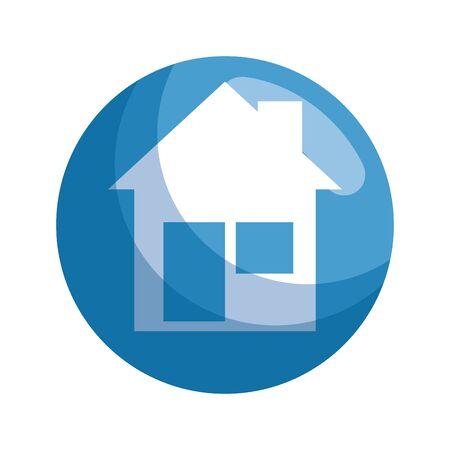 house facade isolated icon vector illustration design Stok Fotoğraf - 129795447