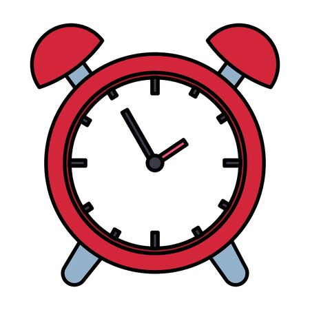 alarm clock time reminder icon vector illustration design Ilustração
