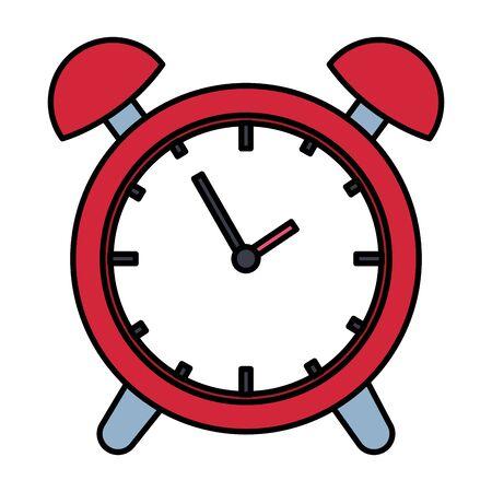 Réveil temps icône de rappel vector illustration design