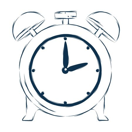 alarm clock time reminder icon vector illustration design Иллюстрация