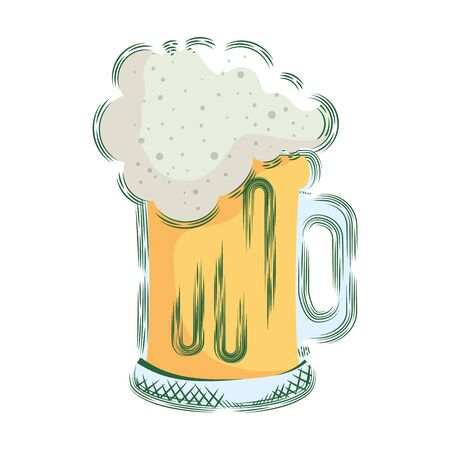 beer jar isolated icon vector illustration design Иллюстрация