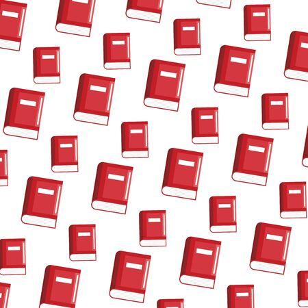 school books pattern background vector illustration design Çizim