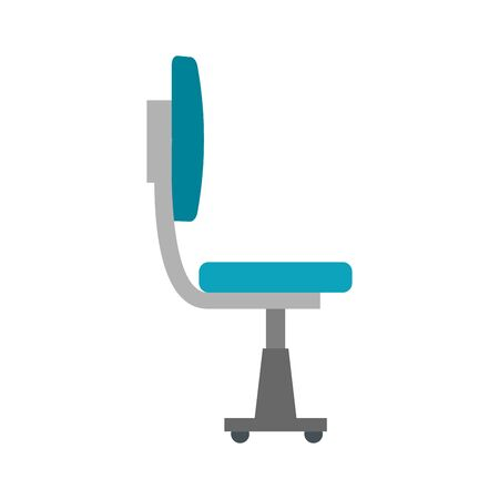 office chair equipment isolated icon vector illustration design  イラスト・ベクター素材