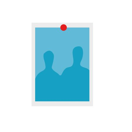 photography shot with pin icon vector illustration design