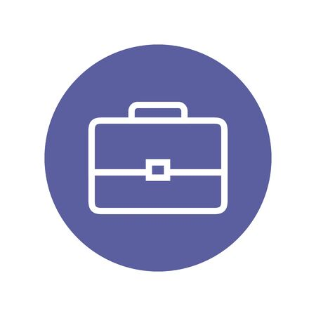 portfolio briefcase business isolated icon vector illustration design 스톡 콘텐츠 - 129825719
