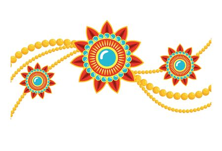 decorative set of mandalas ethnic boho style vector illustration design Ilustrace