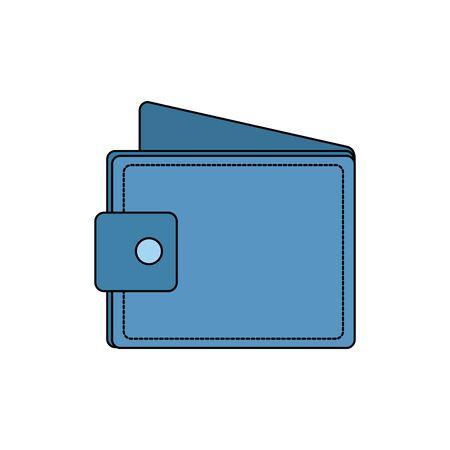 wallet money economy isolated icon vector illustration design Ilustrace