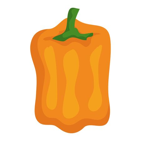 pepper fresh vegetable healthy icon vector illustration design Imagens - 129881993