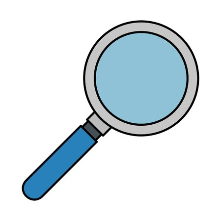magnifying glass search isolated icon vector illustration design Ilustracja