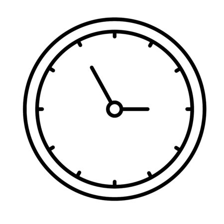 time clock watch isolated icon vector illustration design Zdjęcie Seryjne - 129944233