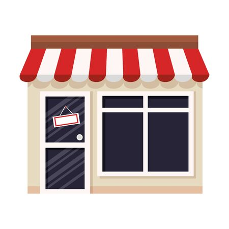 kiosk vector illustration design