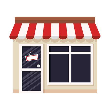 kiosk vector illustration design