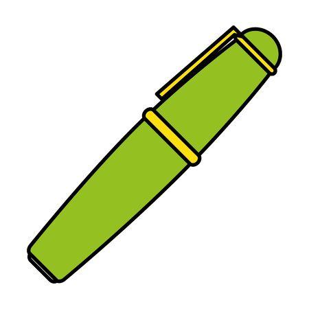 pen school supply isolated icon vector illustration design