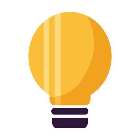 Glühbirne Energie Symbol Vektor-Illustration