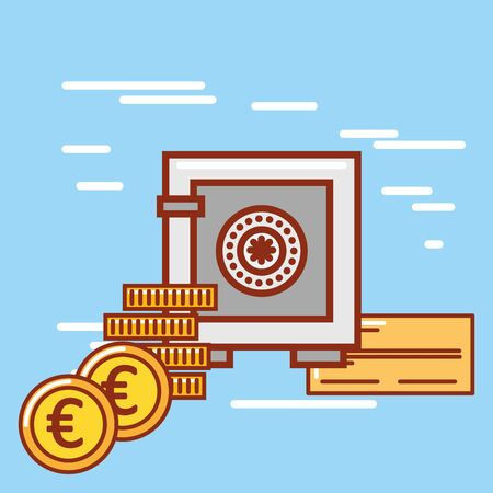 Money icon design, Financial item commerce market payment invest buy and economy theme Vector illustration Stock Vector - 130073851