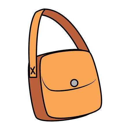 female handbag accessory isolated icon vector illustration design 일러스트