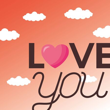 Heart design, Love valentines day romance relationship passion and emotional theme Vector illustration Vector Illustration