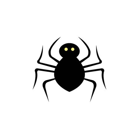 spider animal for halloween isolated icon vector illustration design