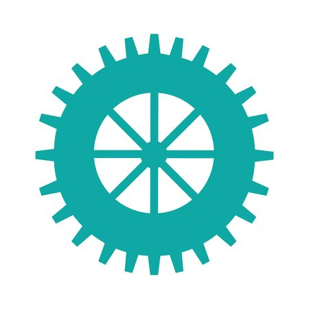 gears machine isolated icon vector illustration design Stock fotó - 130135708