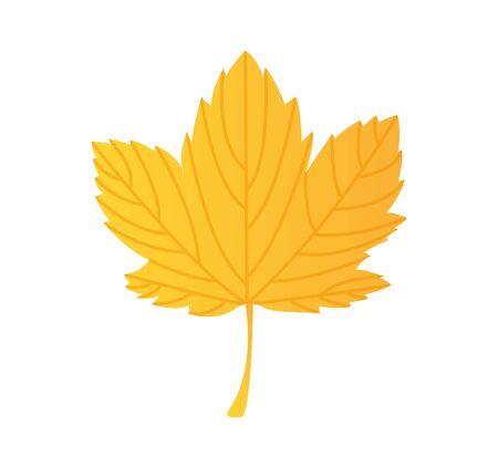 leaf plant silhouette icon vector illustration design Standard-Bild - 130022219