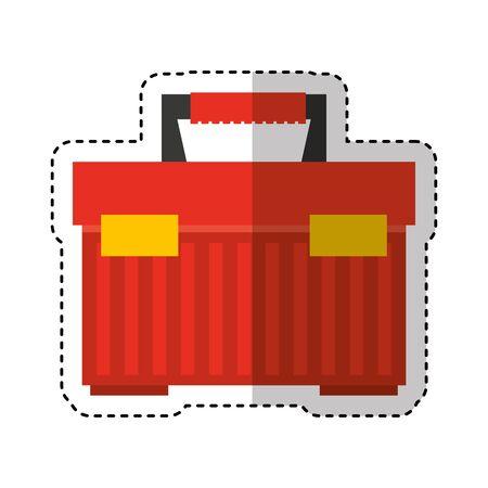 toolbox kit isolated icon vector illustration design Standard-Bild - 130022304