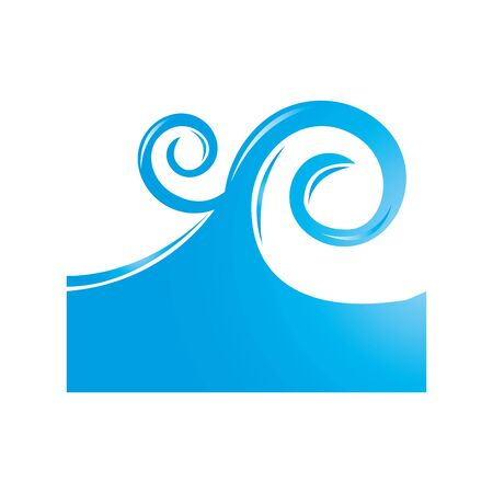 sea wave isolated icon vector illustration design