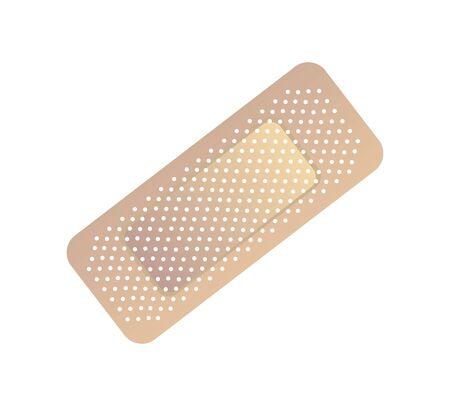 bandage medical isolated icon vector illustration design
