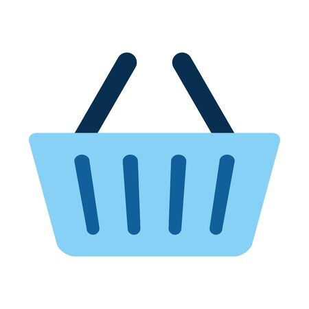 shopping basket isolated icon vector illustration design Stock Vector - 130134171