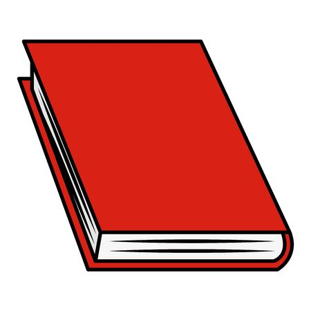 book supply school on white background vector illustration Illusztráció