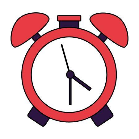 alarm clock time back to school vector illustration 일러스트