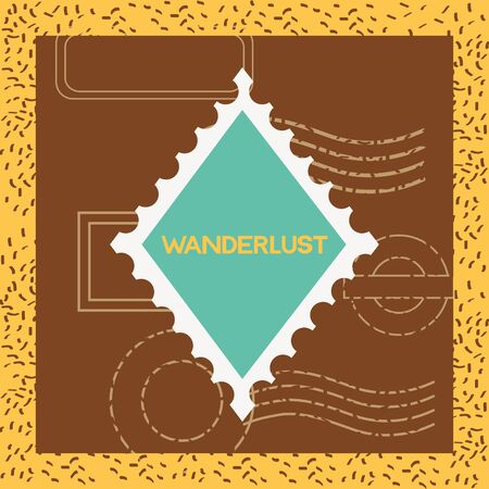Travel and wanderlust design, adventure trip vacation journey holiday transport and voyage theme Vector illustration