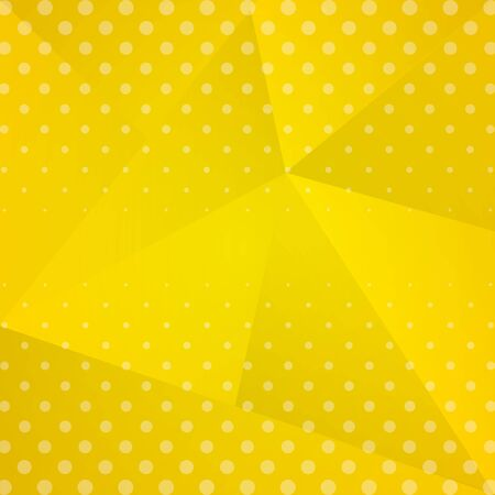 yellow background dotted decoration vector illustration design
