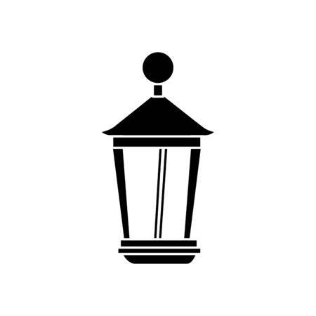 lantern light hanging isolated icon vector illustration design Stock Vector - 132590021
