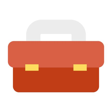 tool box equipment isolated icon vector illustration design