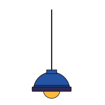 Lamp design, Home park object light electric power bulb and bright theme Vector illustration Illustration