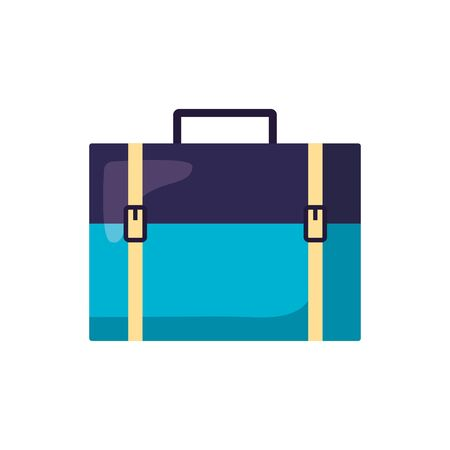 Bag design, Baggage luggage tourism travel vacation trip journey and accessory theme Vector illustration