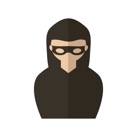 Hacker design, Security system warning protection danger web and alert theme Vector illustration