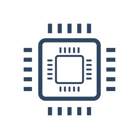 Circuit board design, Technology online processor computer chip digital and hardware theme Vector illustration Illustration