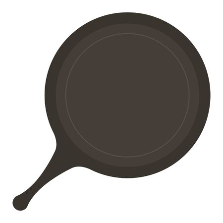 Pan design, Kitchen supply domestic household tool cooking and restaurant theme Vector illustration
