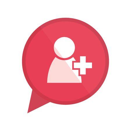 Conception de bulle de communication, conversation de discussion de message et technologie Illustration vectorielle
