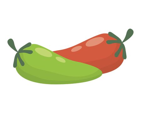 chili pepper hot vegetable icon vector illustration design