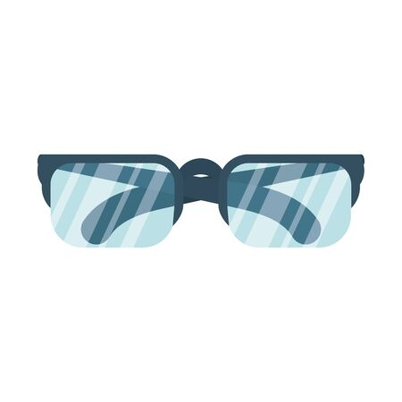eyeglasses optical accessory isolated icon vector illustration design Stock Illustratie