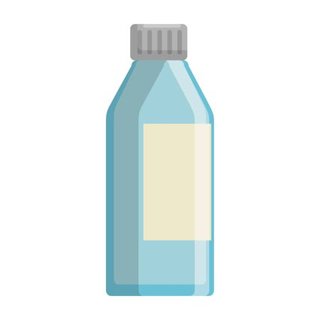 bottle glass isolated icon vector illustration design Ilustrace